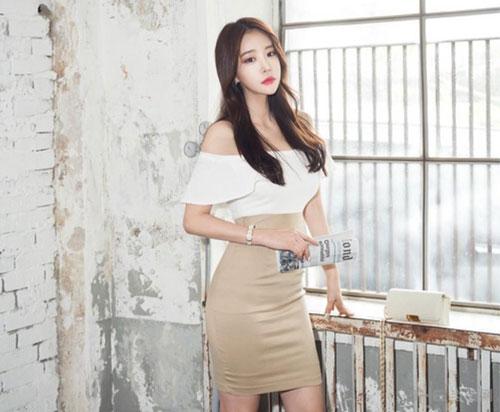 韩国美女模特郑有贞性感私照欣赏