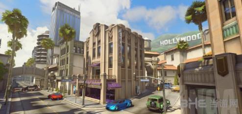 守望先锋好莱坞平面图介绍 好莱坞地图资源要素及通道蹲守点详说1