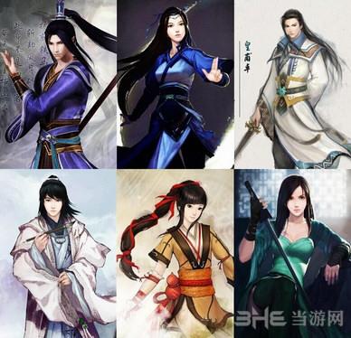 三国志13仙剑奇侠传5-前传-6主角头像MOD截图1