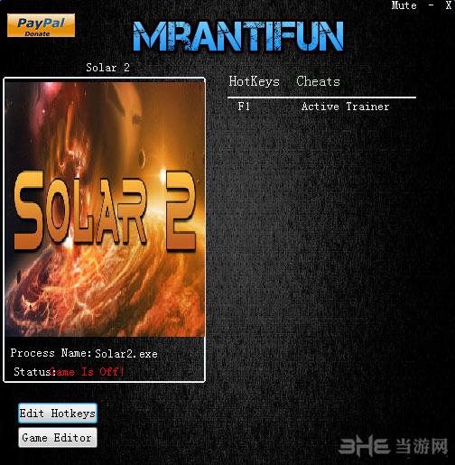 太阳系行星2一项修改器截图0