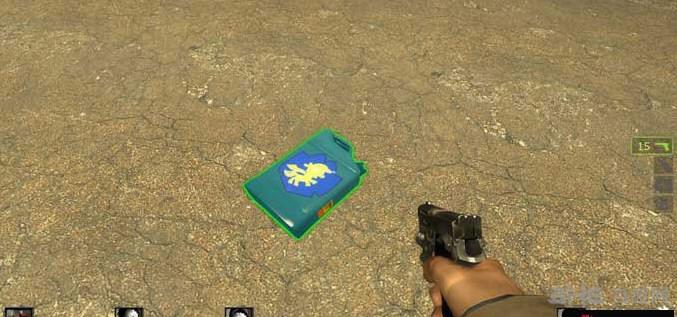 求生之路2蓝色十字军汽油桶MOD截图1