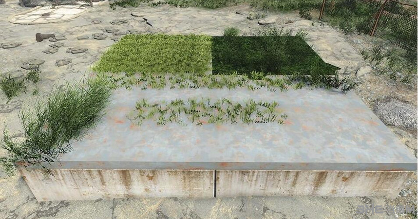辐射4花园植物农作物种植工作台MOD截图2