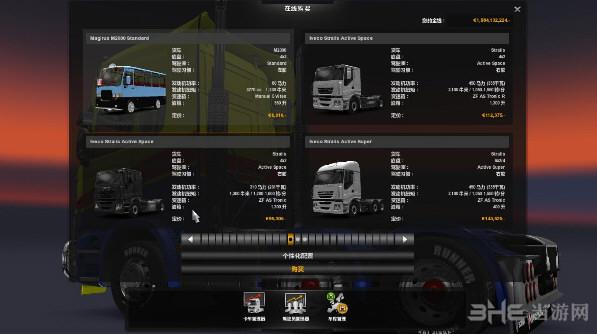 欧洲卡车模拟2智能包MOD截图0