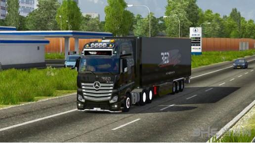 欧洲卡车模拟2硬汉声音包MOD截图0