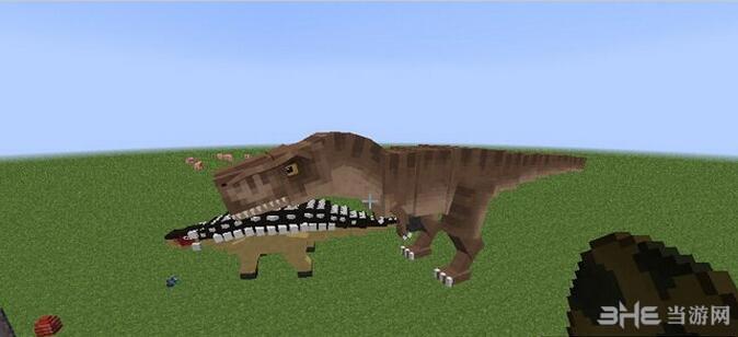 我的世界1.10.2侏罗纪世界MOD截图0