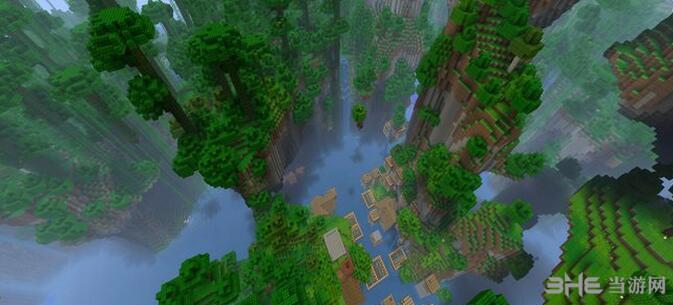 我的世界丛林大峡谷地图包截图0