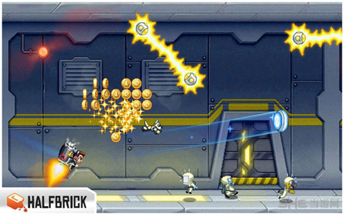 疯狂喷气机无限金币版截图3