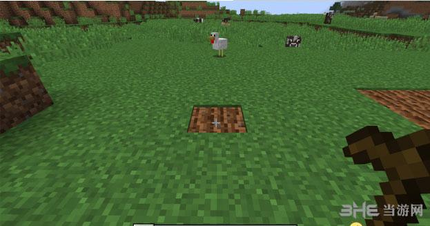 我的世界1.8.0更好用的锄头MOD截图0