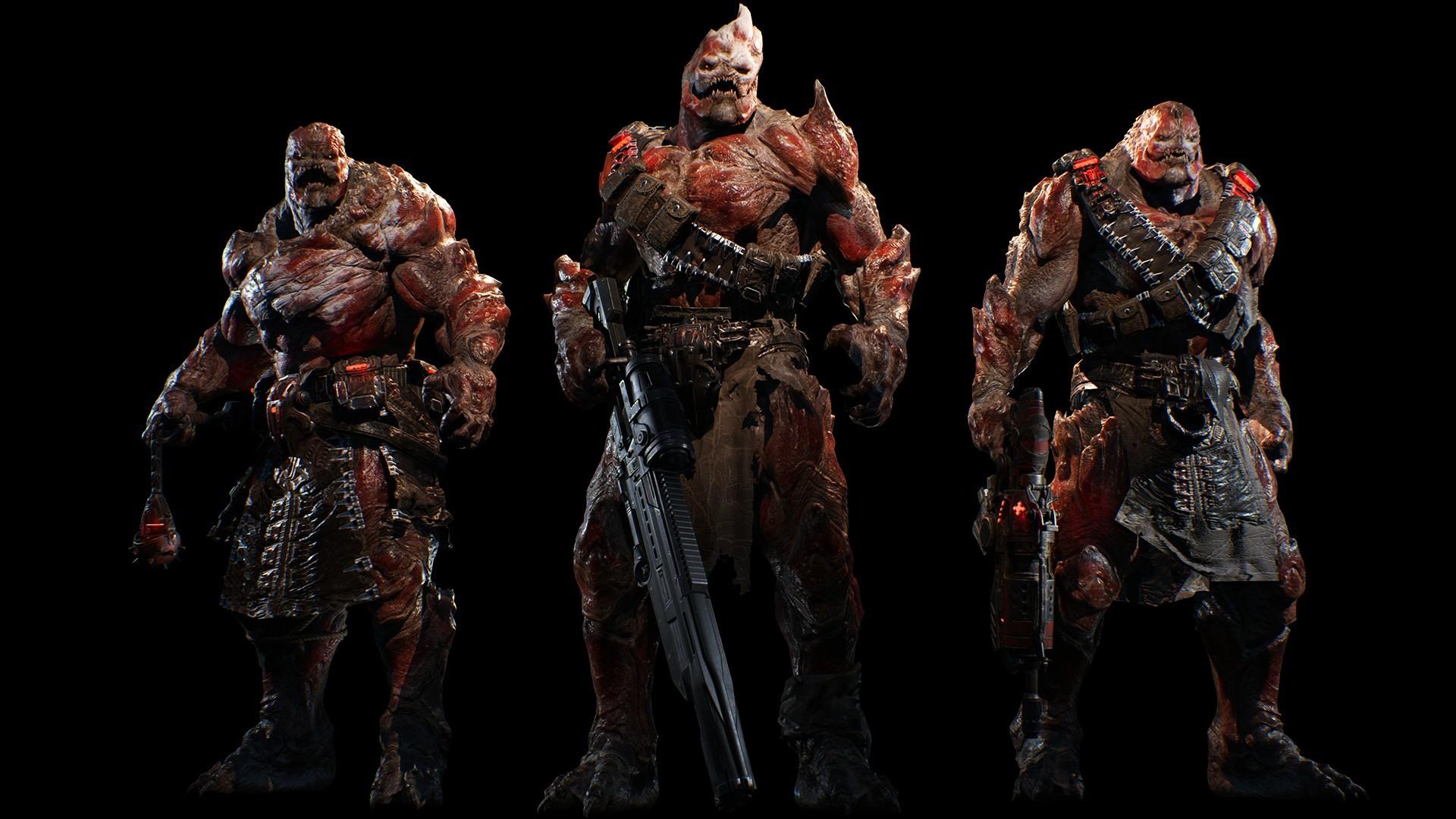 战争机器4游戏截图欣赏 超级硬汉对抗异星
