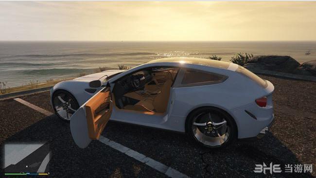侠盗猎车手5 2015年款法拉利FF带全景天窗MOD截图1