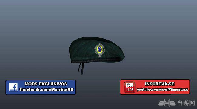 侠盗猎车手5巴西军队贝雷帽MOD截图0