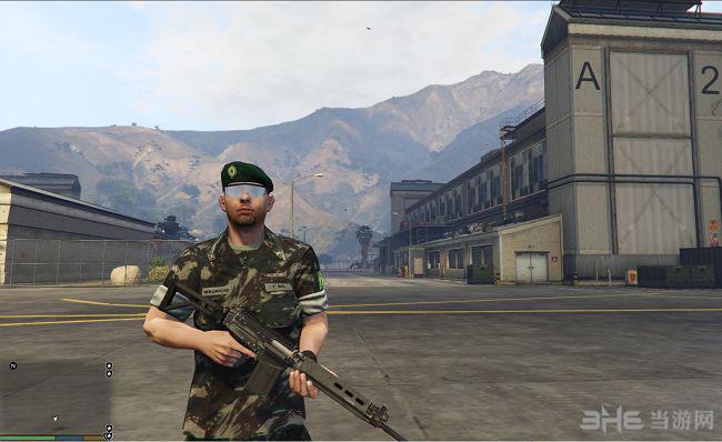 侠盗猎车手5巴西军队贝雷帽MOD截图1