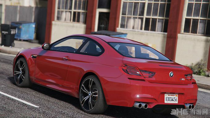 侠盗猎车手5 2013款宝马M6 Coupe MOD截图4