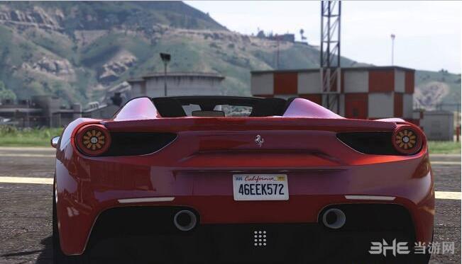 侠盗猎车手5法拉利488 GTS Spider MOD截图3