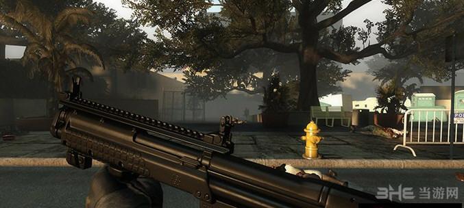 求生之路2 Kel Tec KSG霰弹枪MOD截图1