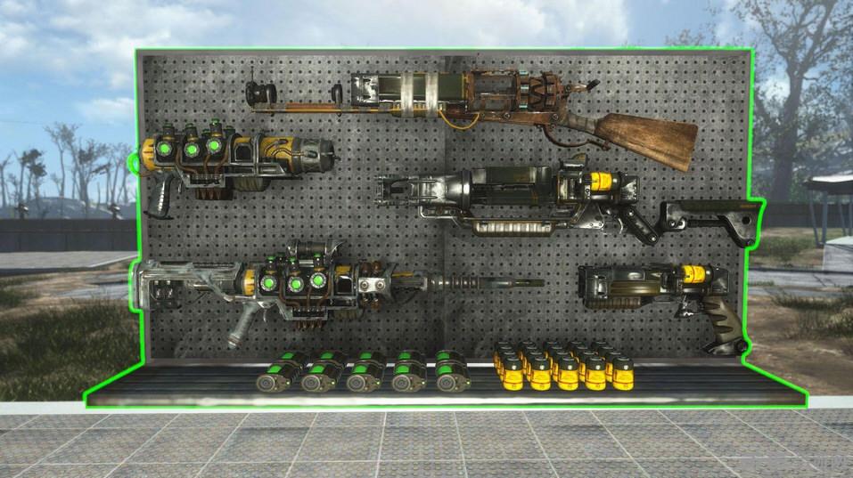 辐射4武器展示板MOD截图0