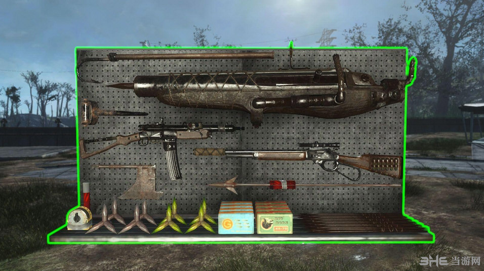 辐射4武器展示板MOD截图2