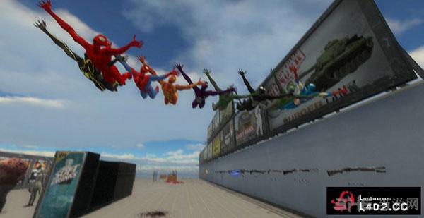 求生之路2蜘蛛侠Hunter猎手MOD截图0