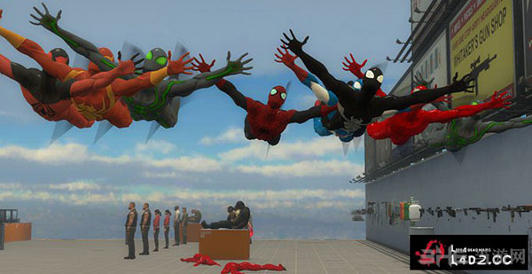 求生之路2蜘蛛侠Hunter猎手MOD截图3