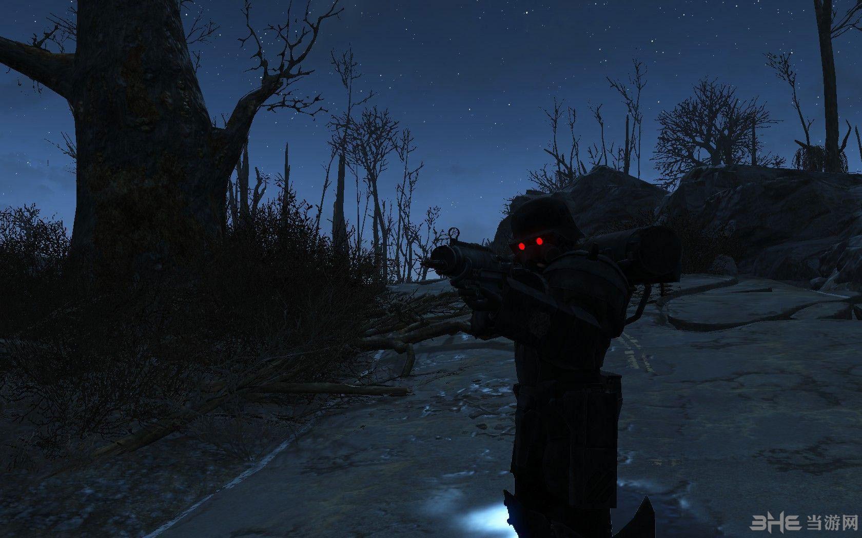 辐射4犬狼传说特殊强化装甲服MOD截图0