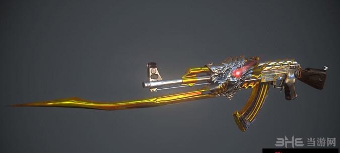 求生之路2穿越火线火麒麟AK47黄金版MOD截图0