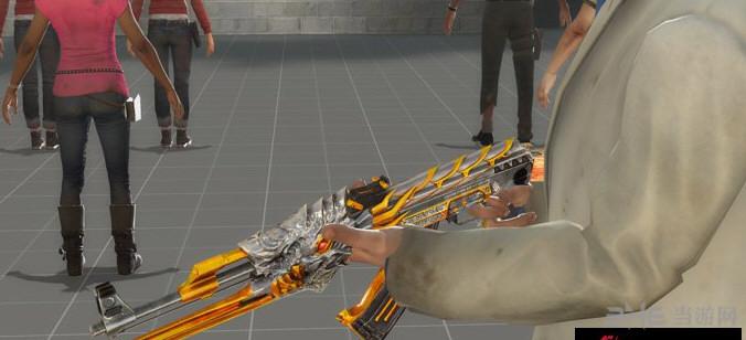 求生之路2穿越火线火麒麟AK47黄金版MOD截图3