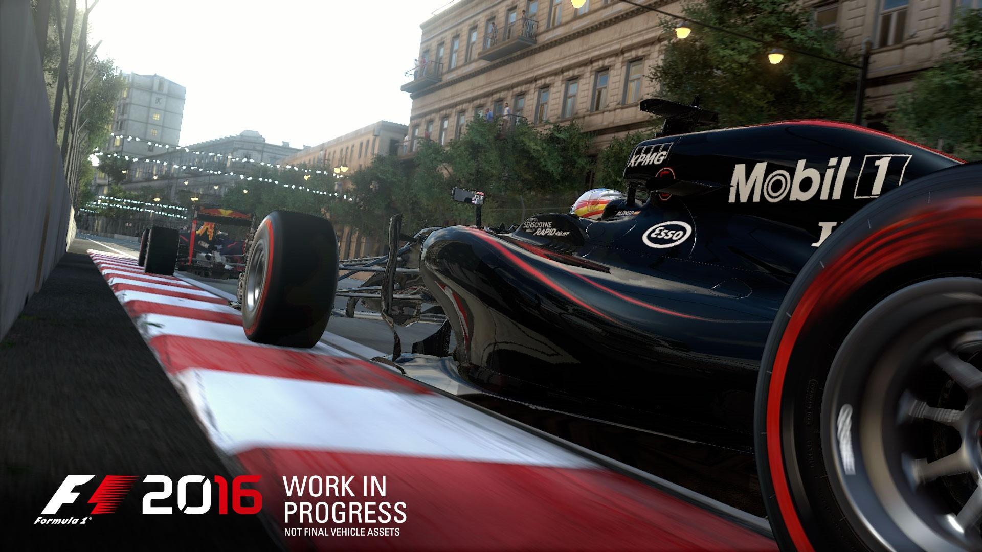 F1 2016游戏截图欣赏 超逼真系统等你来体