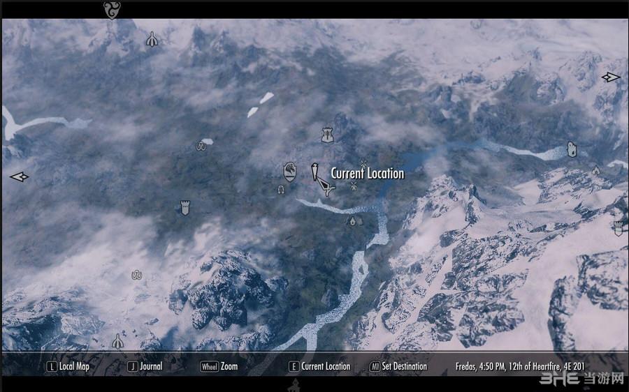 上古卷轴5天际大型DLC级任务地域MOD-楼陀罗MOD截图7