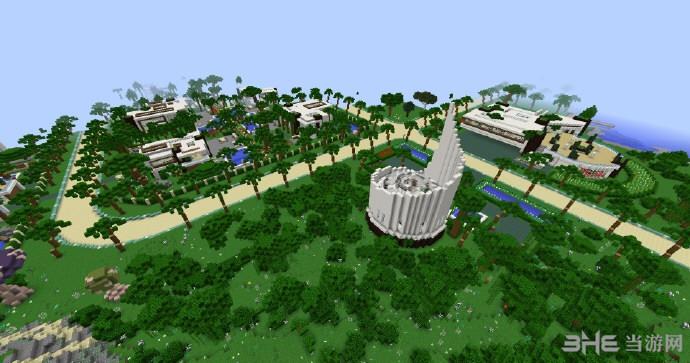 我的世界1.8.9大型群岛生存地图包截图1