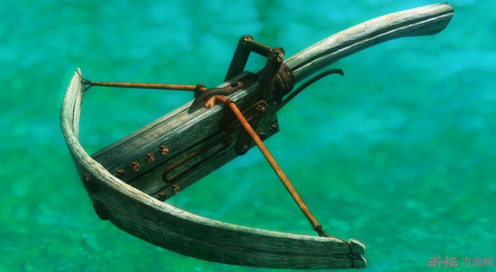上古卷轴5天际木制弩弓MOD截图1