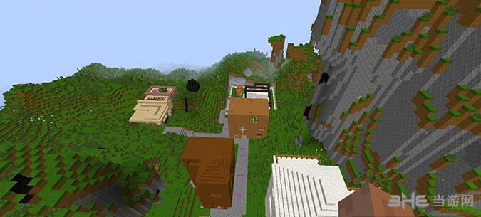 我的世界白云山区别墅地图包截图2