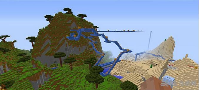 我的世界白云山区别墅地图包截图3