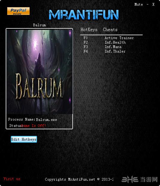 Balrum三项修改器截图0