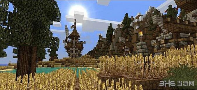我的世界1.9.0中世纪乡村材质包MOD截图1