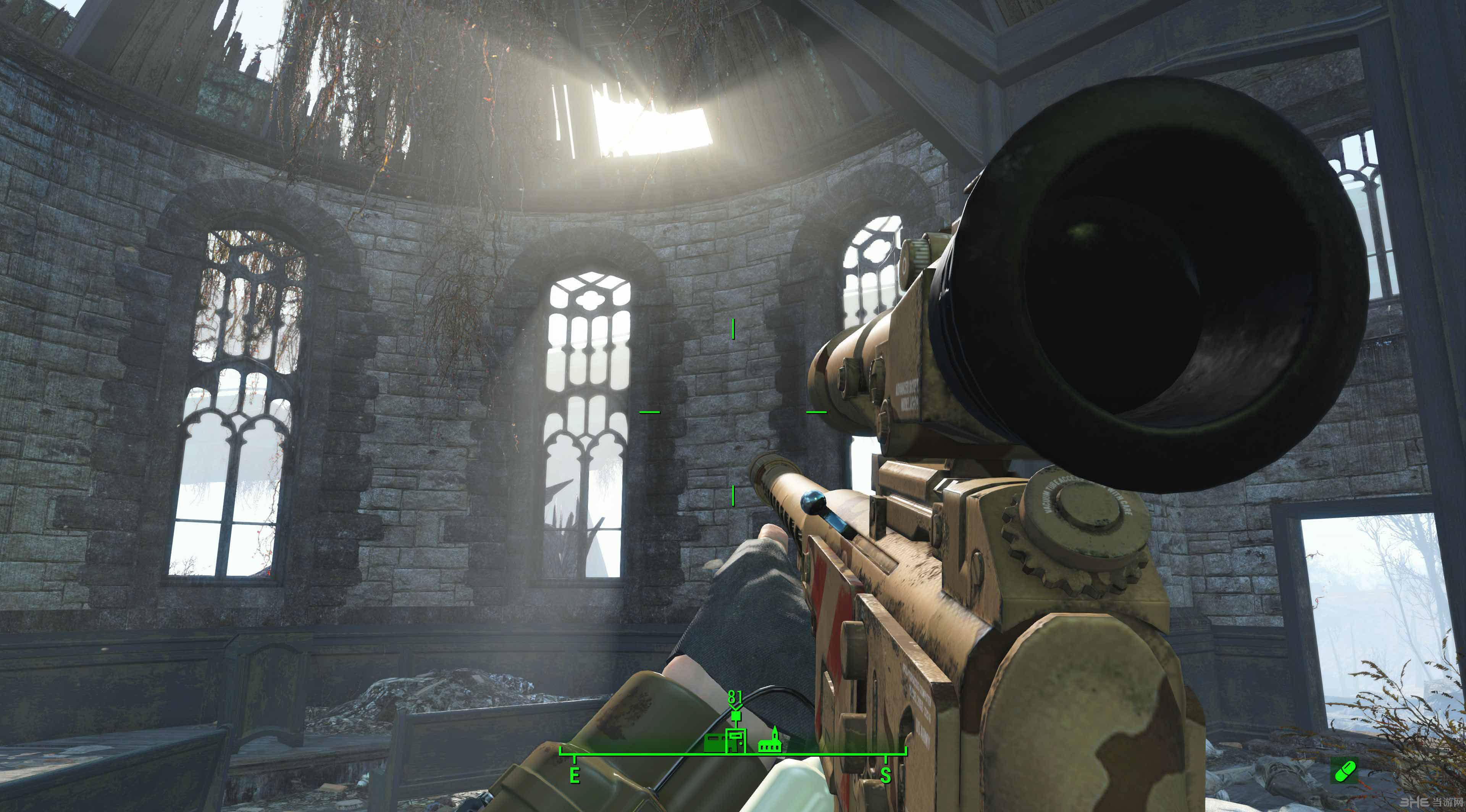辐射4克里斯丁狙击步枪MOD截图0