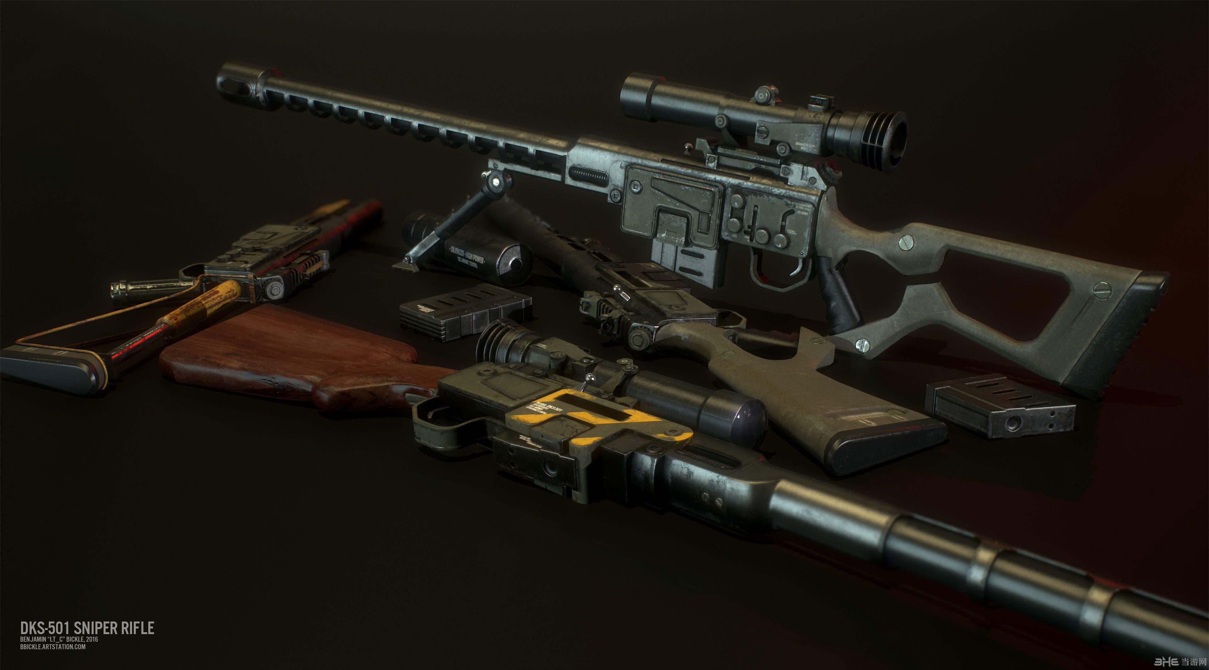 辐射4克里斯丁狙击步枪MOD截图1