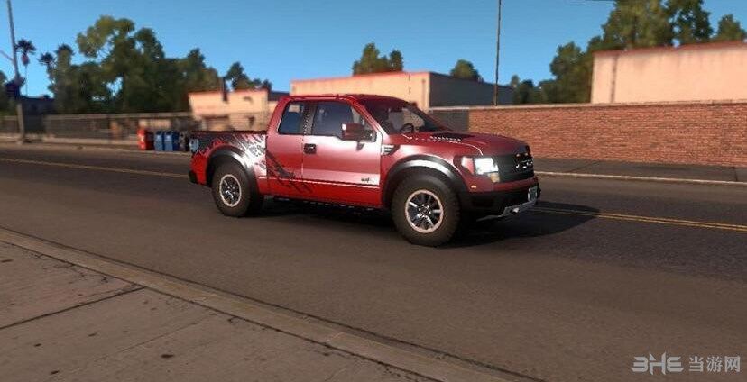 美国卡车模拟福特猛禽F150MOD截图0