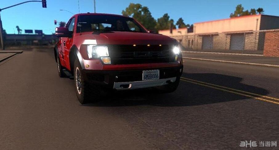 美国卡车模拟福特猛禽F150MOD截图1