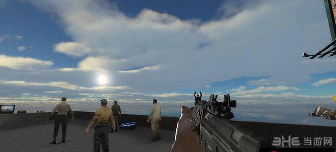 求生之路2使命召唤网络版AK74U枪械MOD截图0