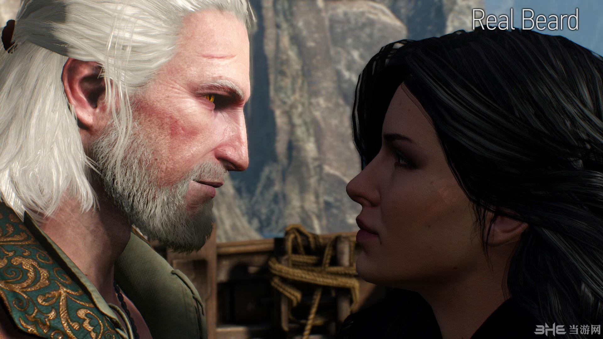 巫师3:狂猎主角杰洛特改变头发颜色MOD截图5
