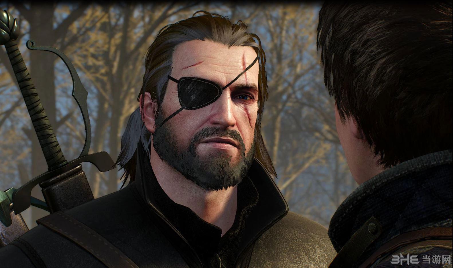 巫师3:狂猎蛇叔眼罩MOD截图0