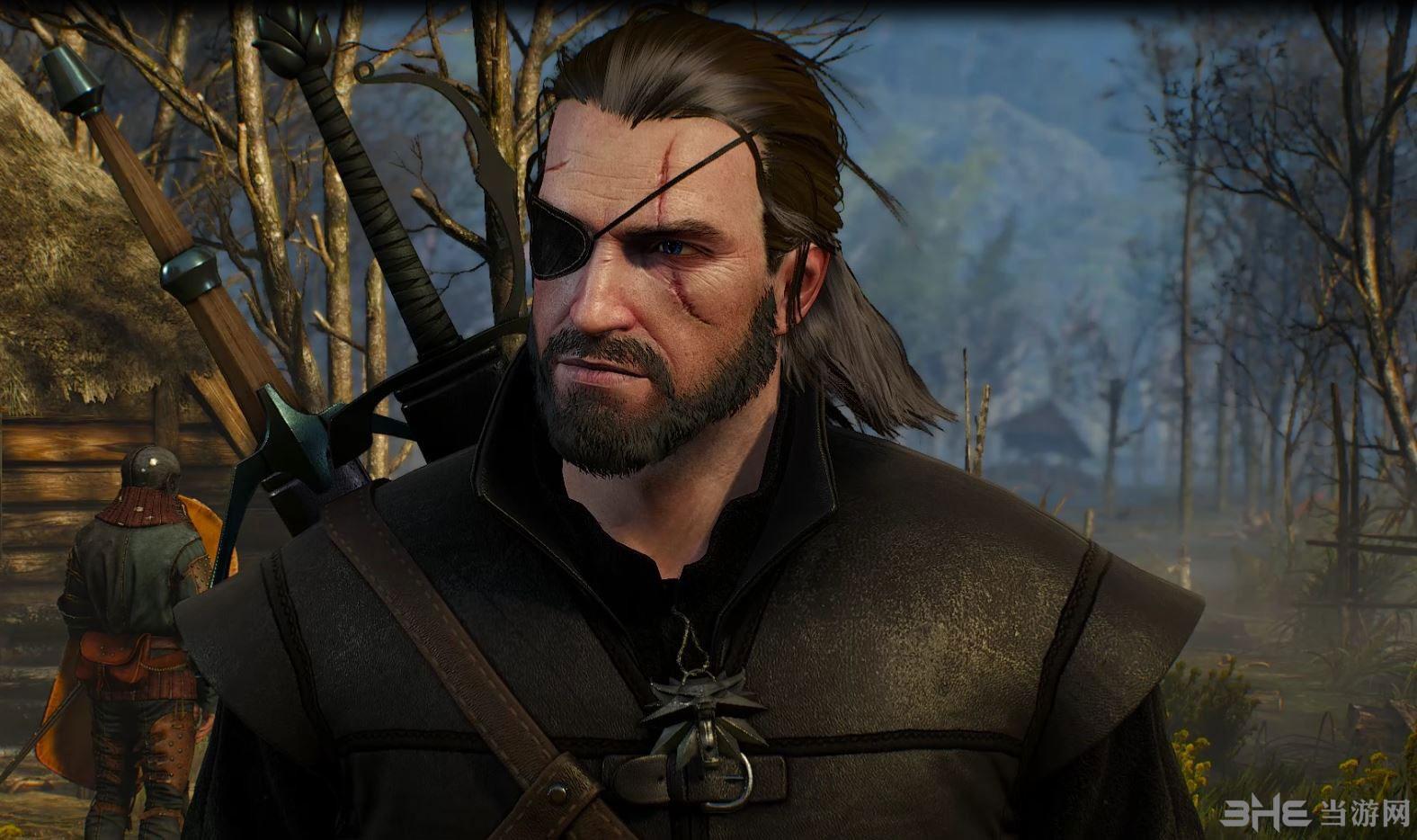 巫师3:狂猎蛇叔眼罩MOD截图2