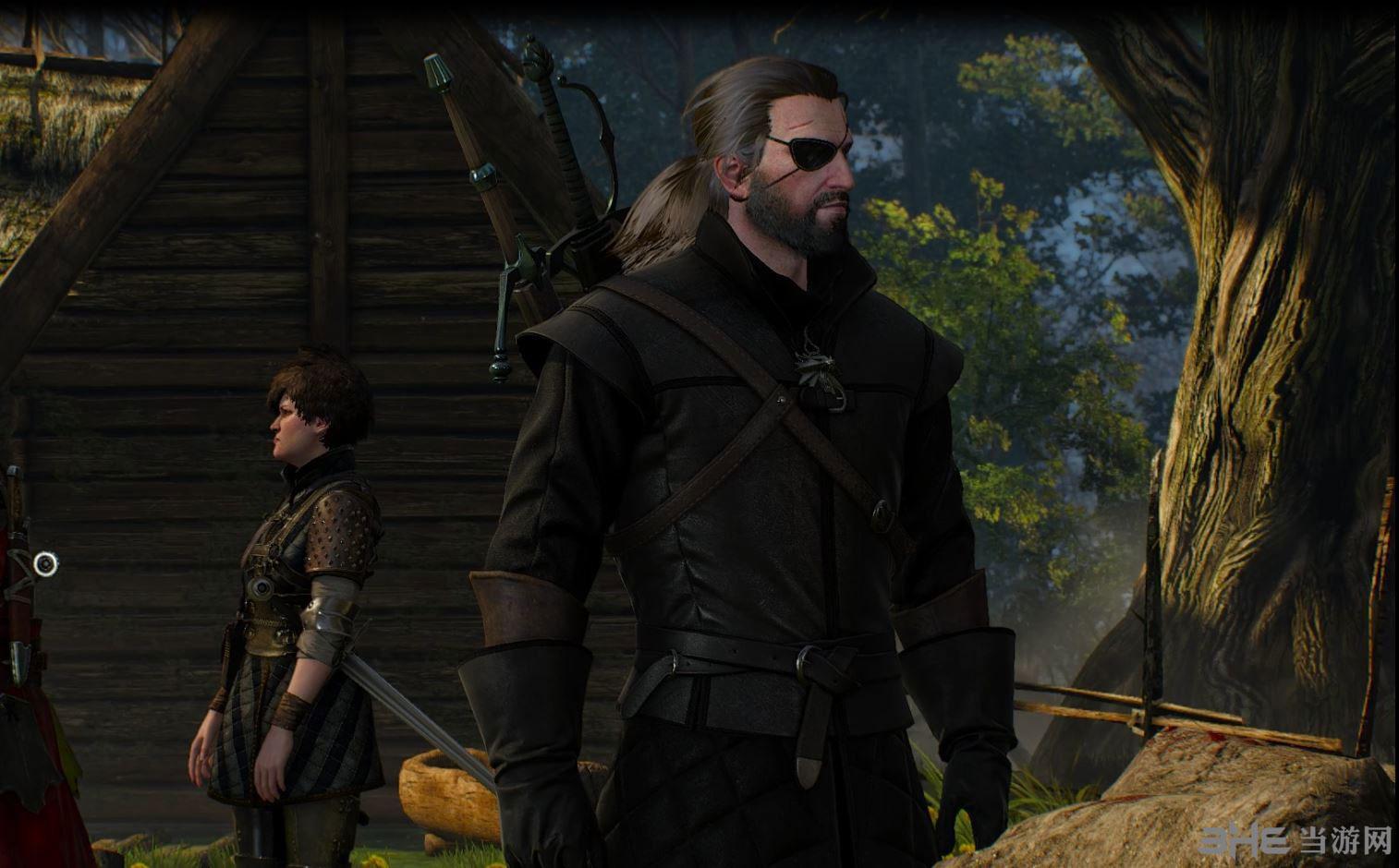 巫师3:狂猎蛇叔眼罩MOD截图3