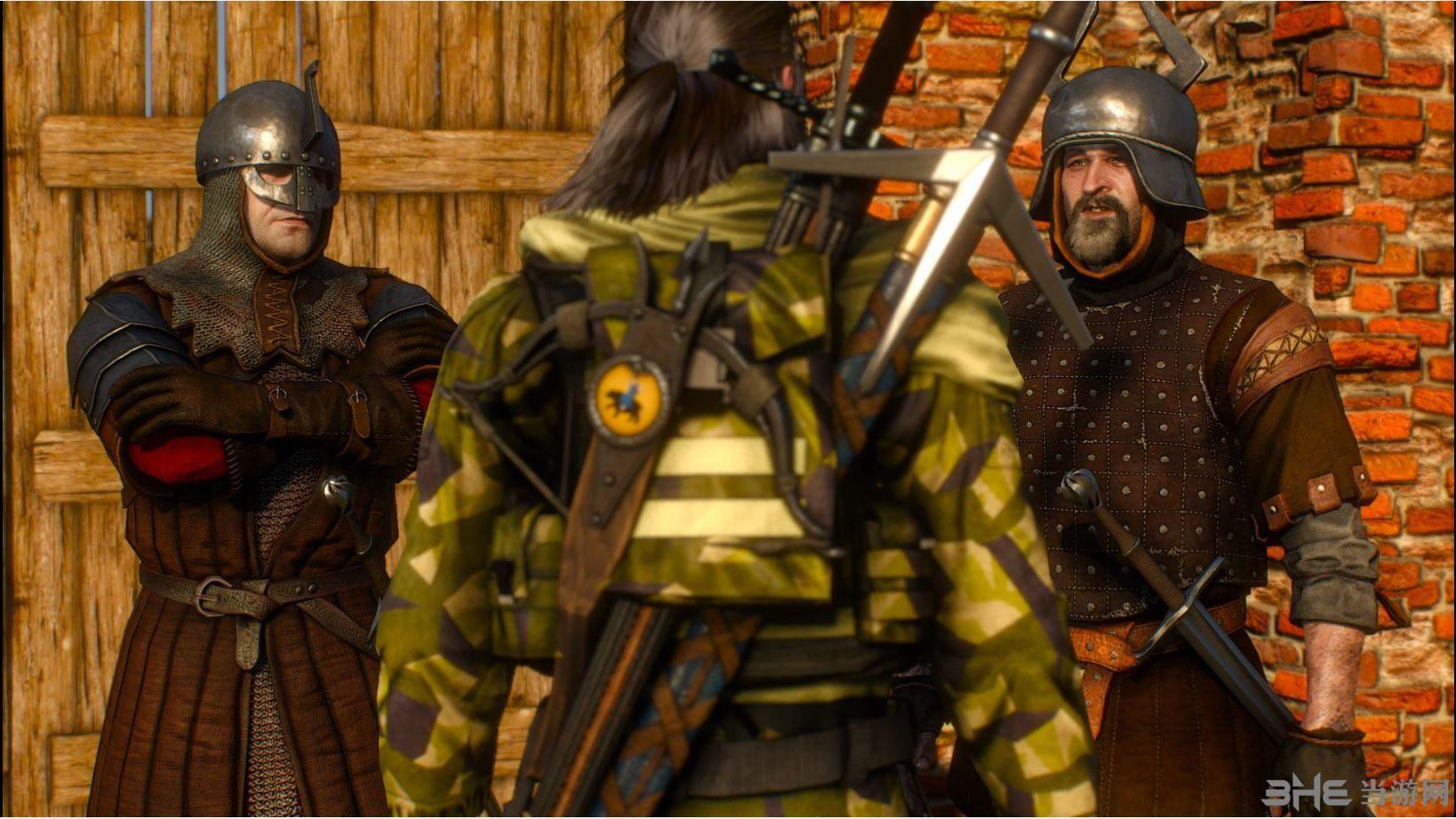 巫师3:狂猎蛇叔装甲MOD截图2