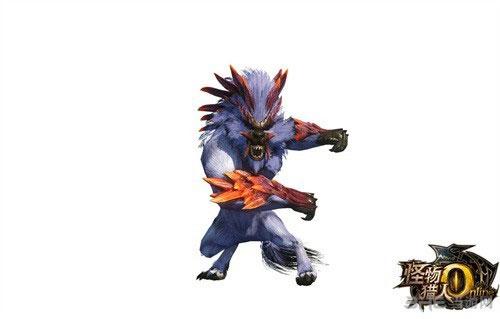 怪物猎人OL剑刹狼1