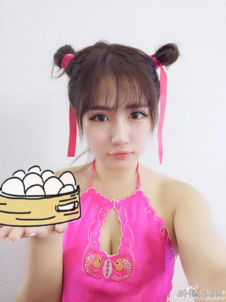 徐嘉乐cake超性感私房福利照欣赏