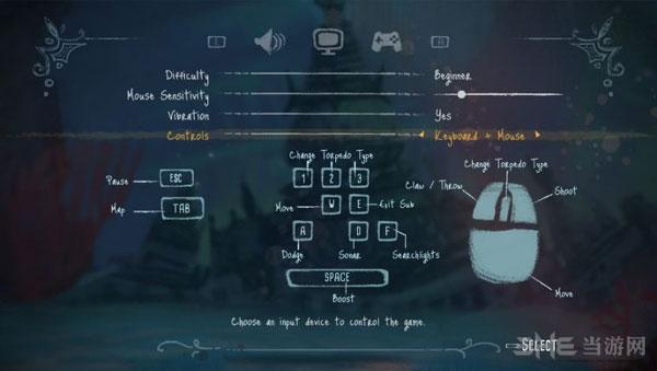 深海之歌各按键是什么功能3