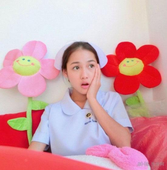 泰国最美护士私房照3