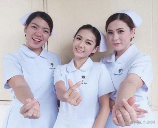 泰国最美护士私房照1