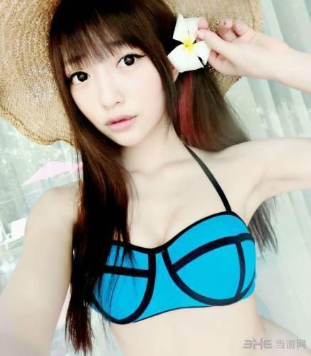 台湾女主播Mita私房照3